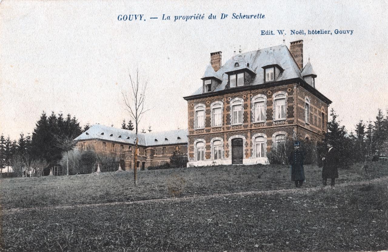 Château de Gouvy 01 - Collection Victor Trembloy, © I.D. Gouvy asbl