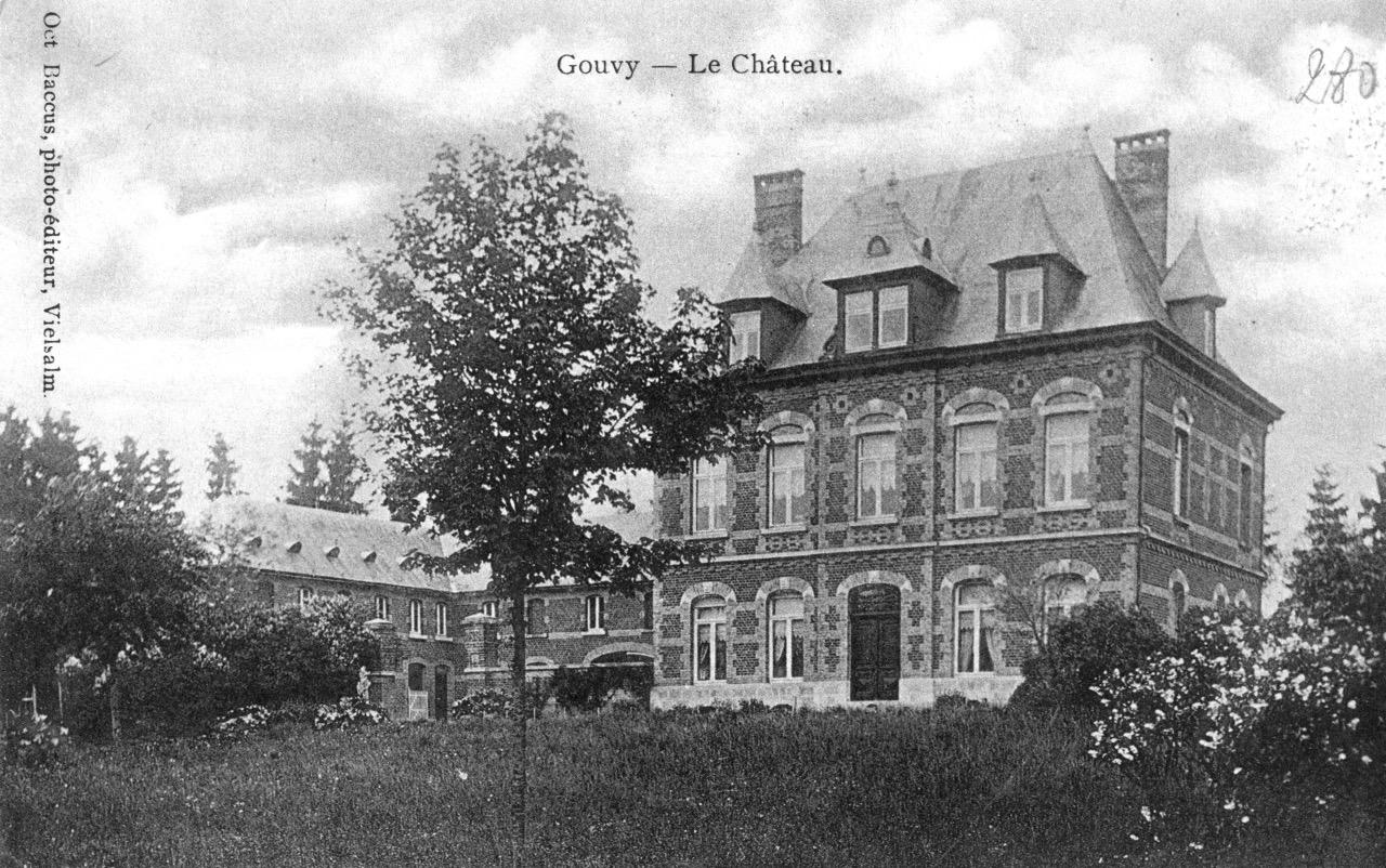 Château de Gouvy 07 - Collection Victor Trembloy, © I.D. Gouvy asbl